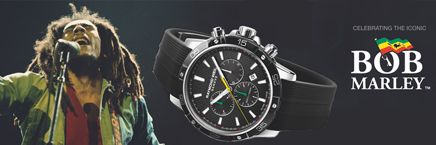 Raymond Weil Launches Limited Edition Bob Marley Timepiece
