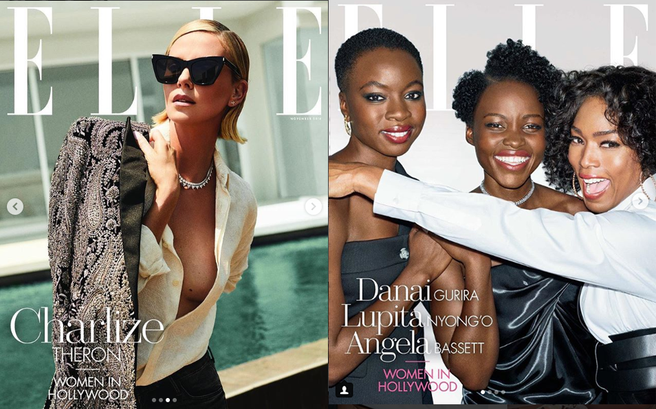 Hearts On Fire In ELLE's Women In Hollywood Issue