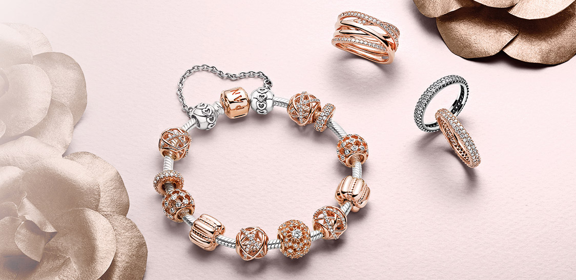Harry Edwards Jewelers Launches Pandora Rose Gold Collection