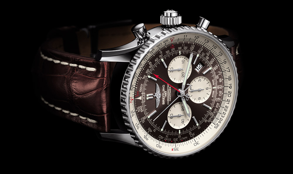 Breitling Navitimer Rattrapante - duty free watches in St Lucia