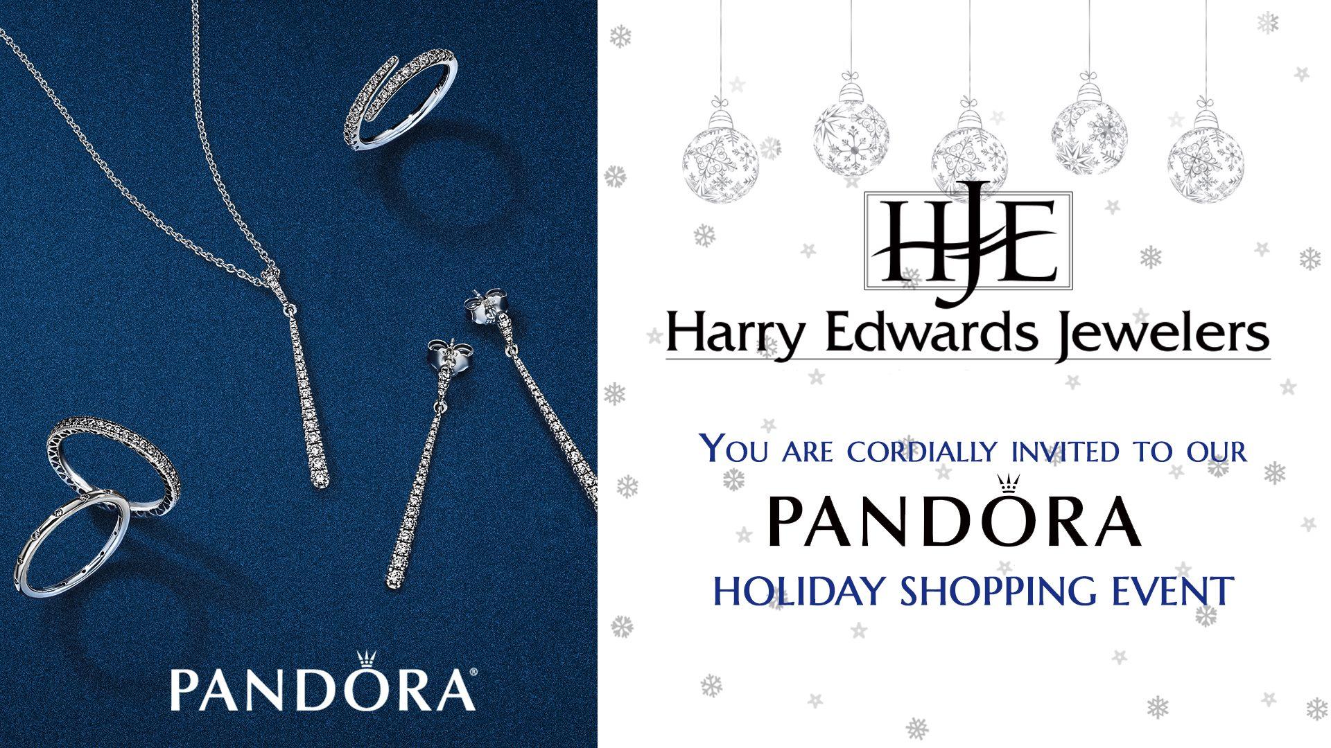Harry Edwards Jewelers Pandora Holiday Shopping Event