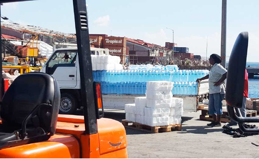 Harry Edwards Jewelers Gives Relief Supplies To Dominica